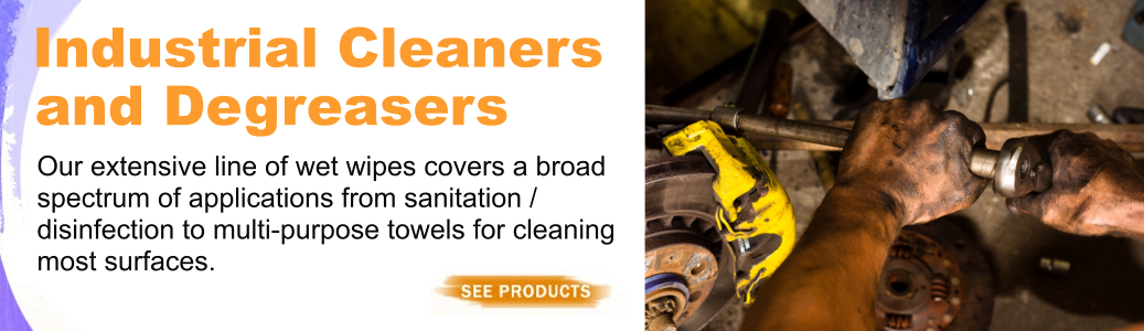 Industrial Cleaner & Degreasers